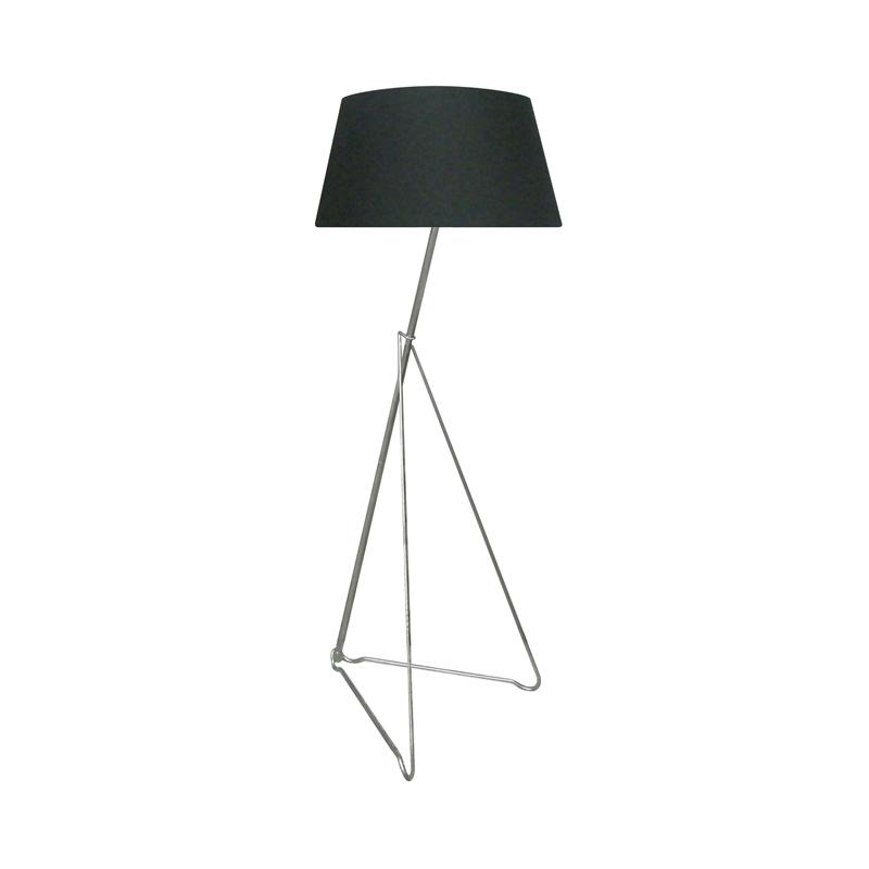 Lampa Podłogowa Galileo Ts 120628f Chbk Czarna Zuma Line Zuma Line