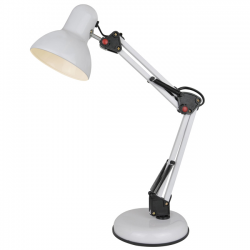 Lampa stołowa GARITA biała...